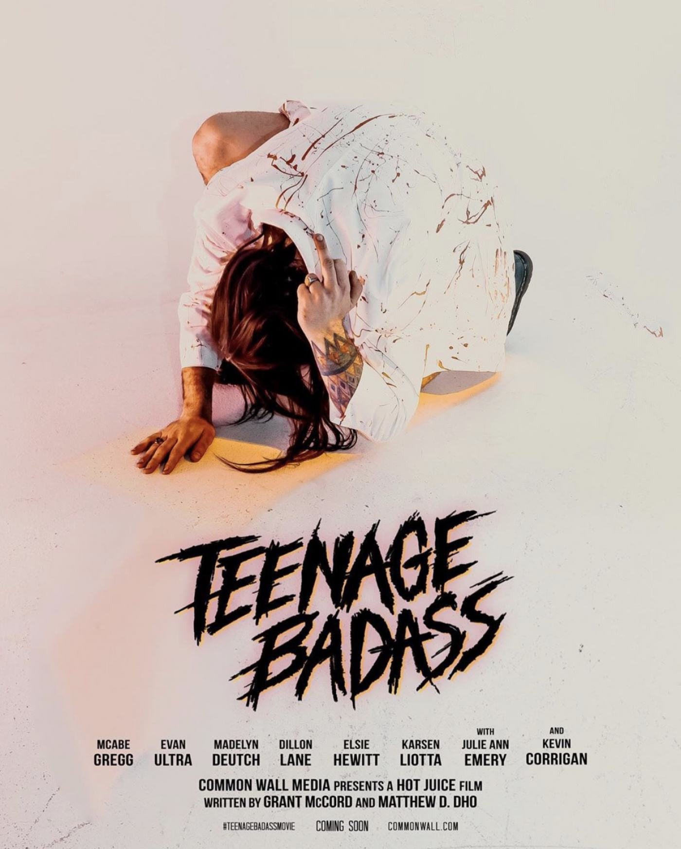Teenage Badass Poster #1