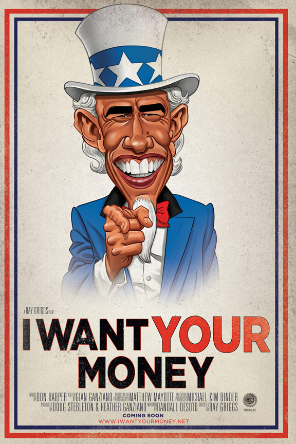 I Want Your Money Poster #1