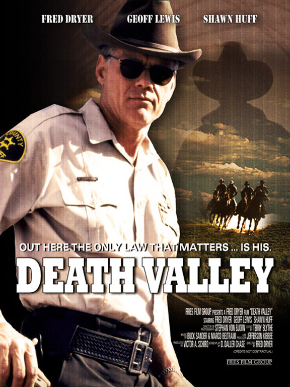 highway 395  death valley   2000  poster  1
