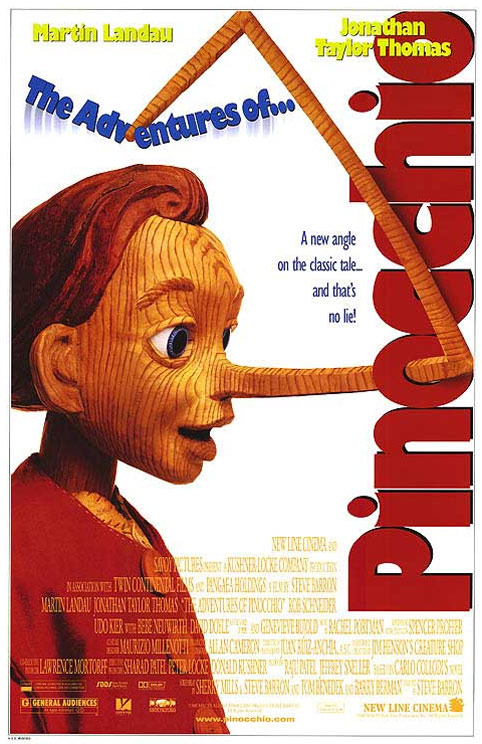 The New Adventures of Pinocchio Poster #1
