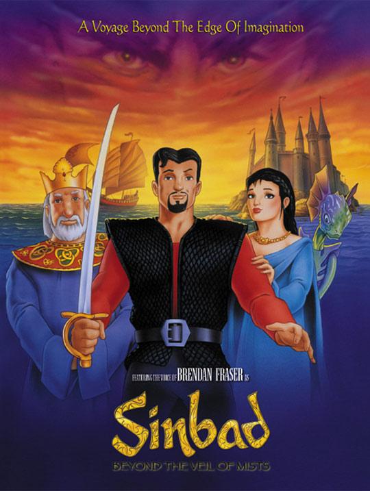 Sinbad: Beyond the Veil of Mists Poster #1
