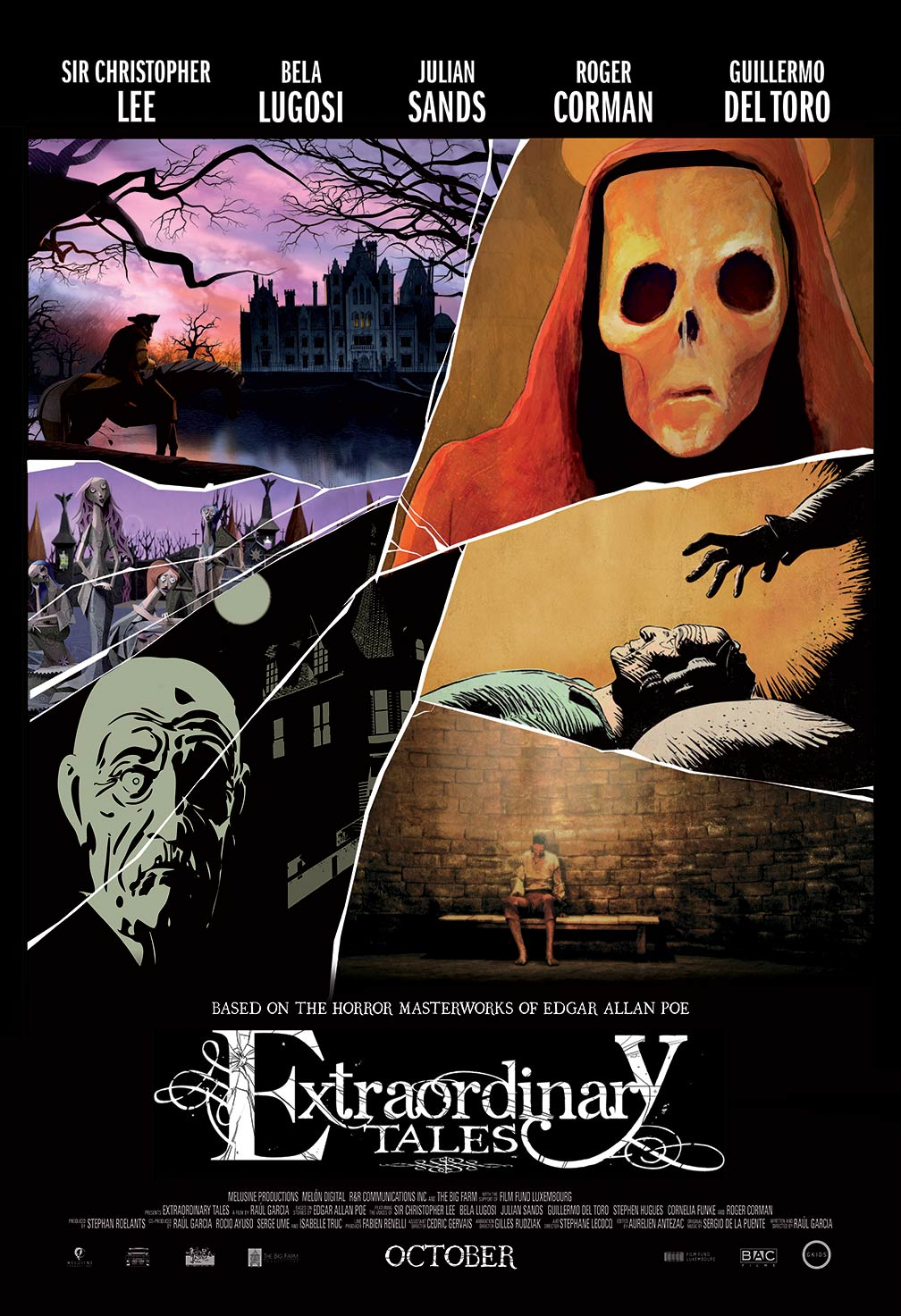 Extraordinary Tales Poster #1