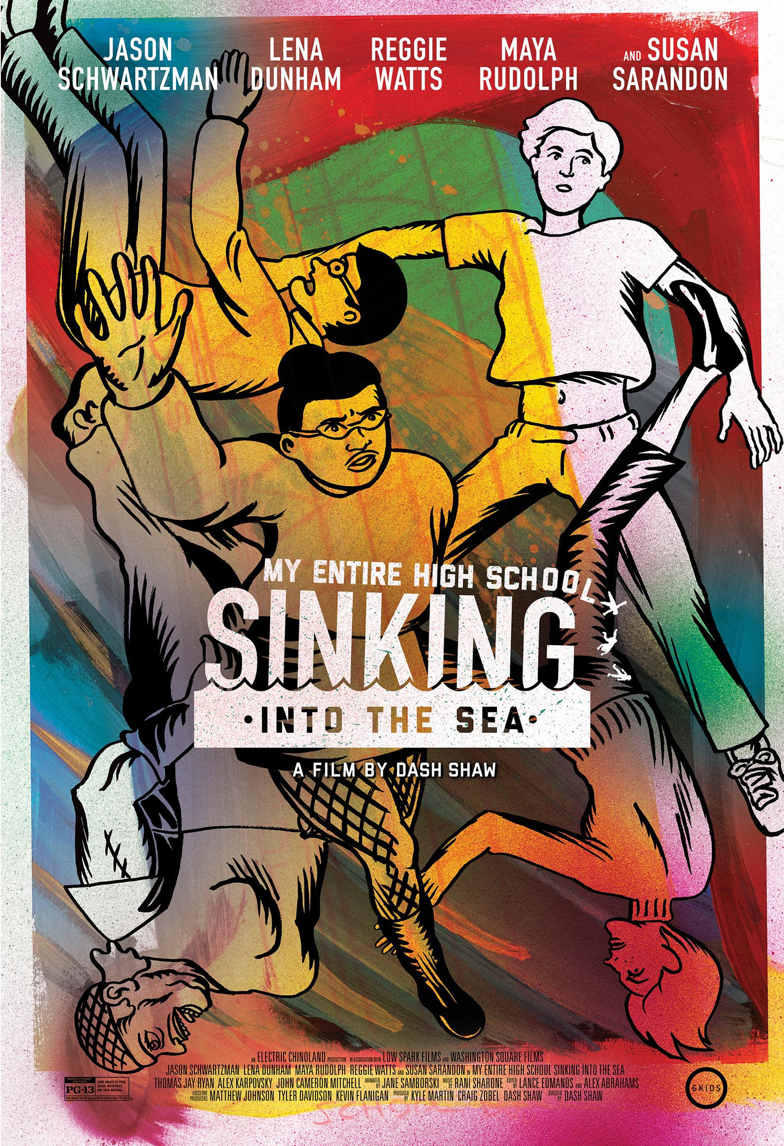 My Entire High School Sinking Into the Sea Poster #1
