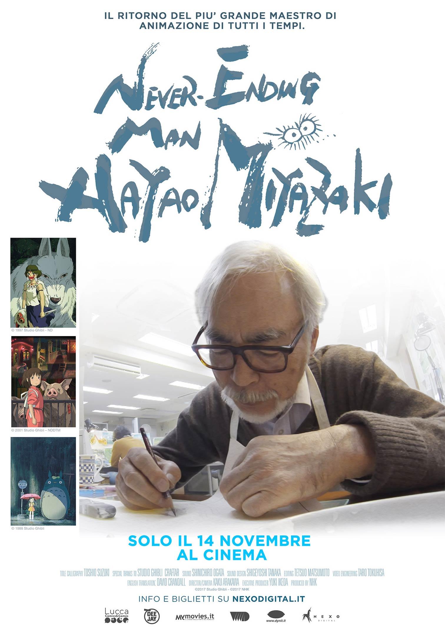 Never-Ending Man: Hayao Miyazaki Poster #1