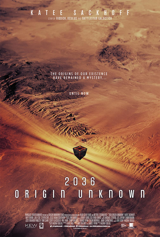 2036 Origin Unknown Poster #1