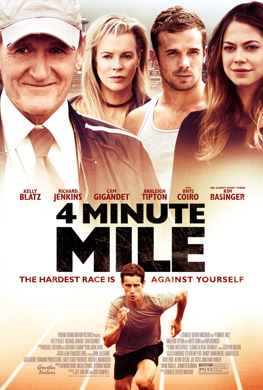 4 Minute Mile Poster #1