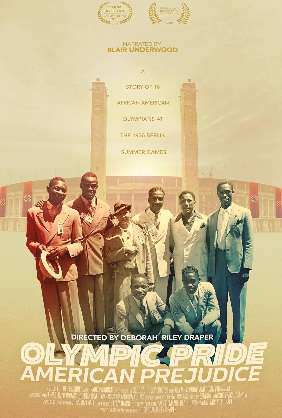 Olympic Pride, American Prejudice Poster #1