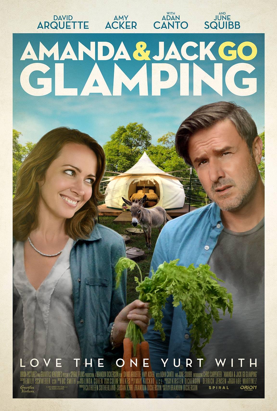 Amanda & Jack Go Glamping Poster #1