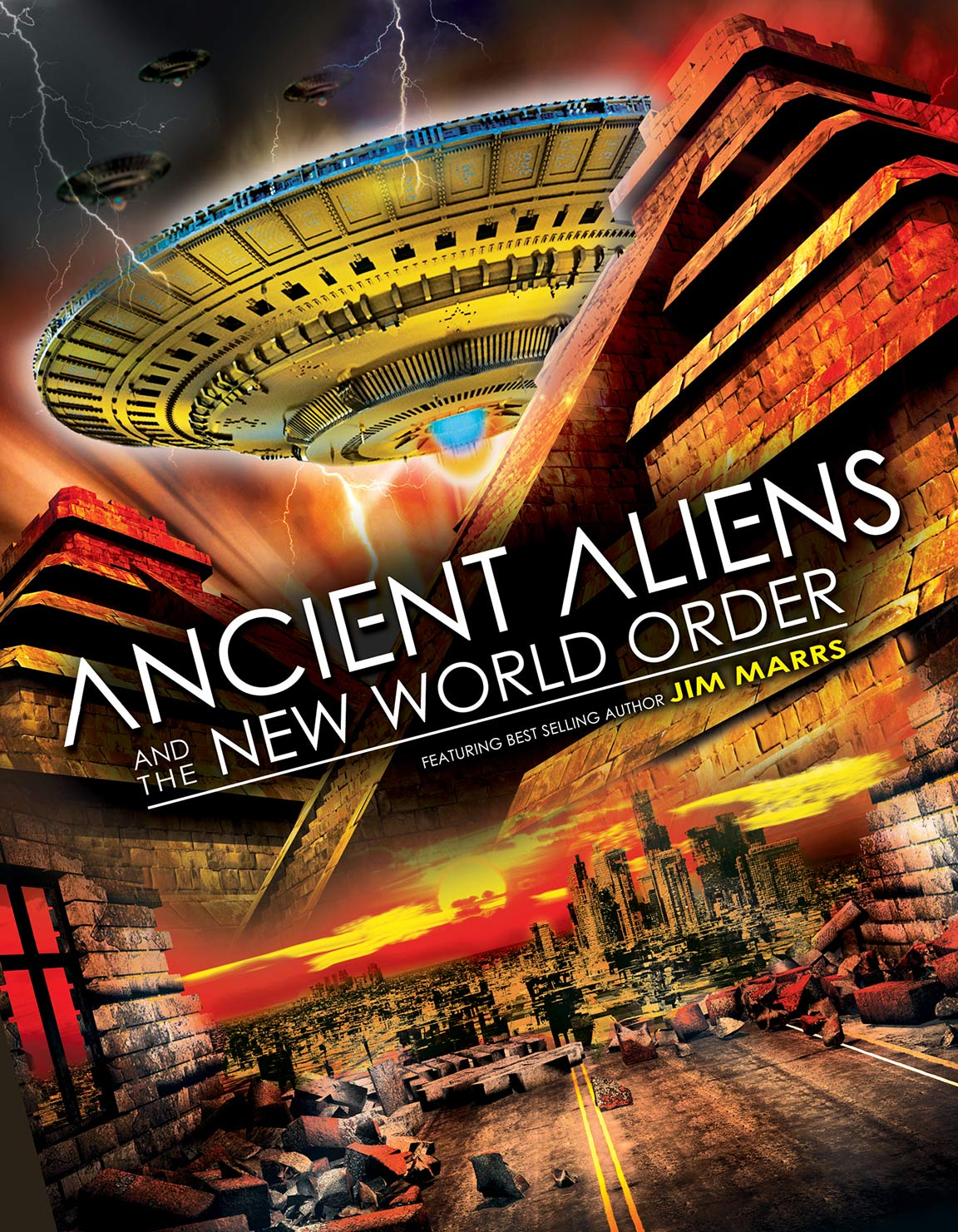 Ancient Aliens and the New World Order Poster #1