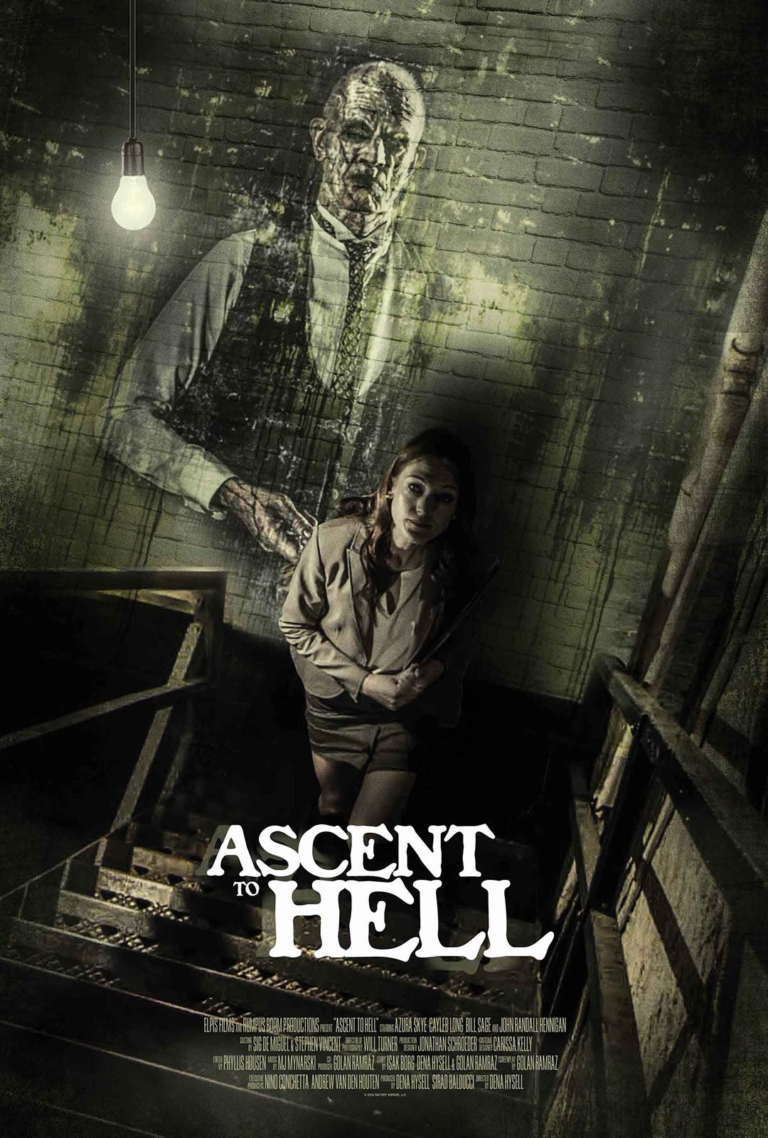 Ascent to Hell Poster #1