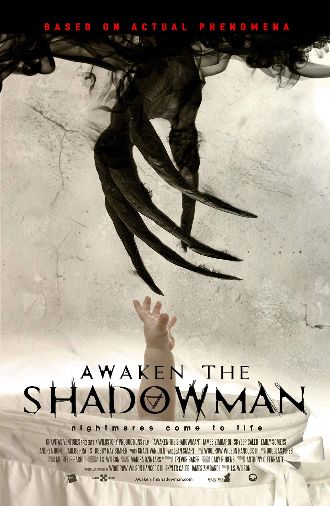 Awaken the Shadowman Poster #1