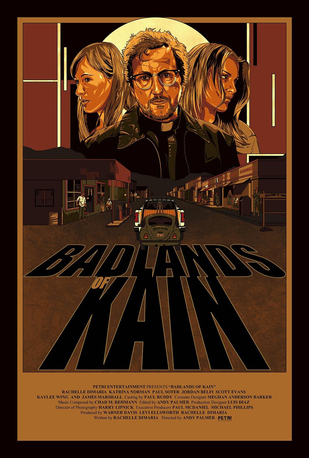 Badlands of Kain Poster #1
