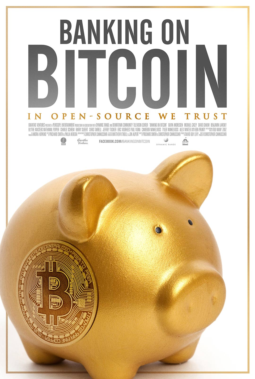 Banking on Bitcoin Poster #1