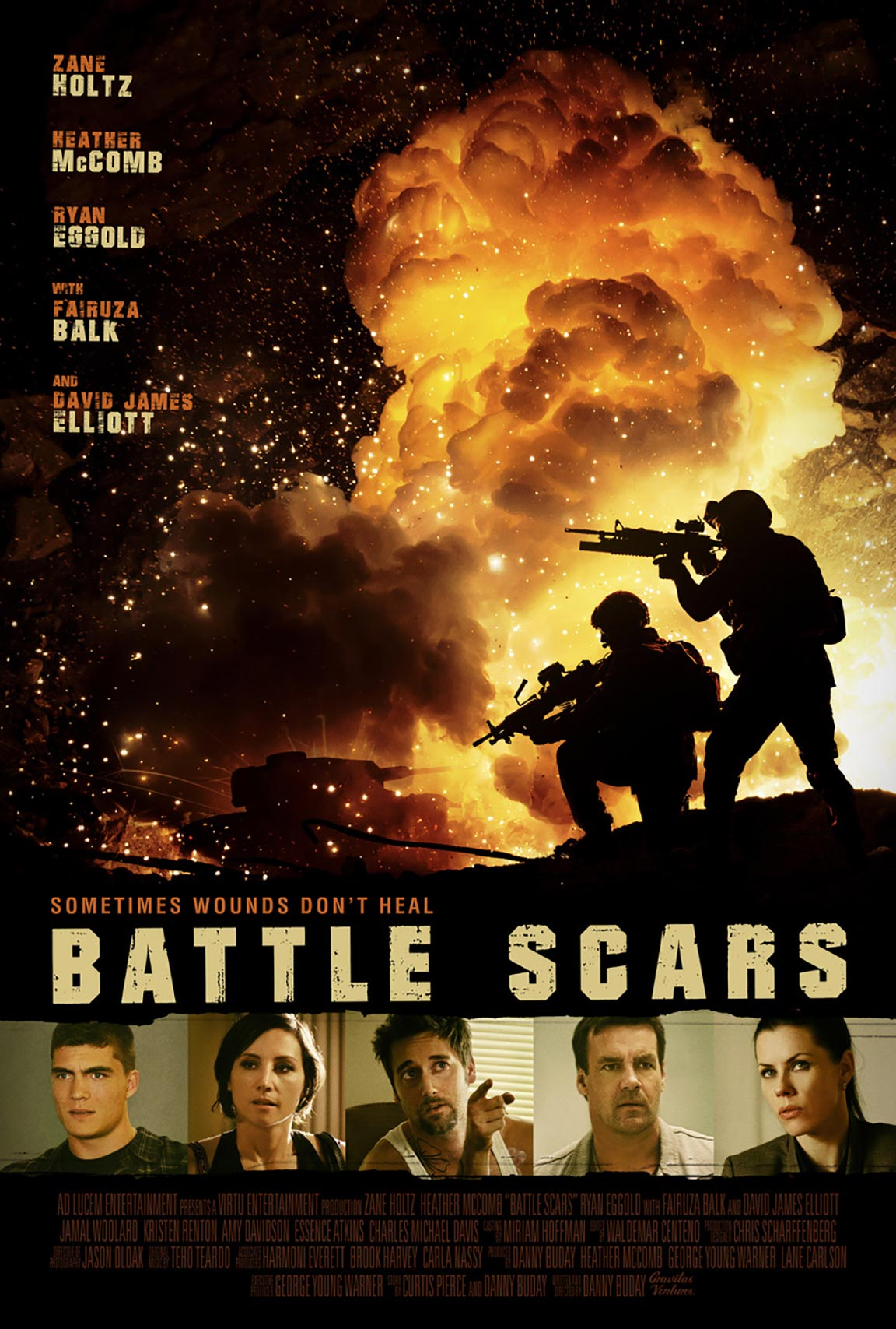 Battle Scars Poster #1