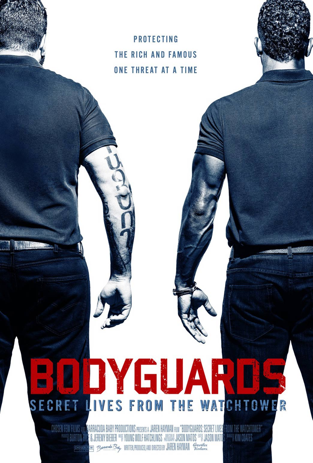 Bodyguards: Secret Lives from the Watchtower Poster #1