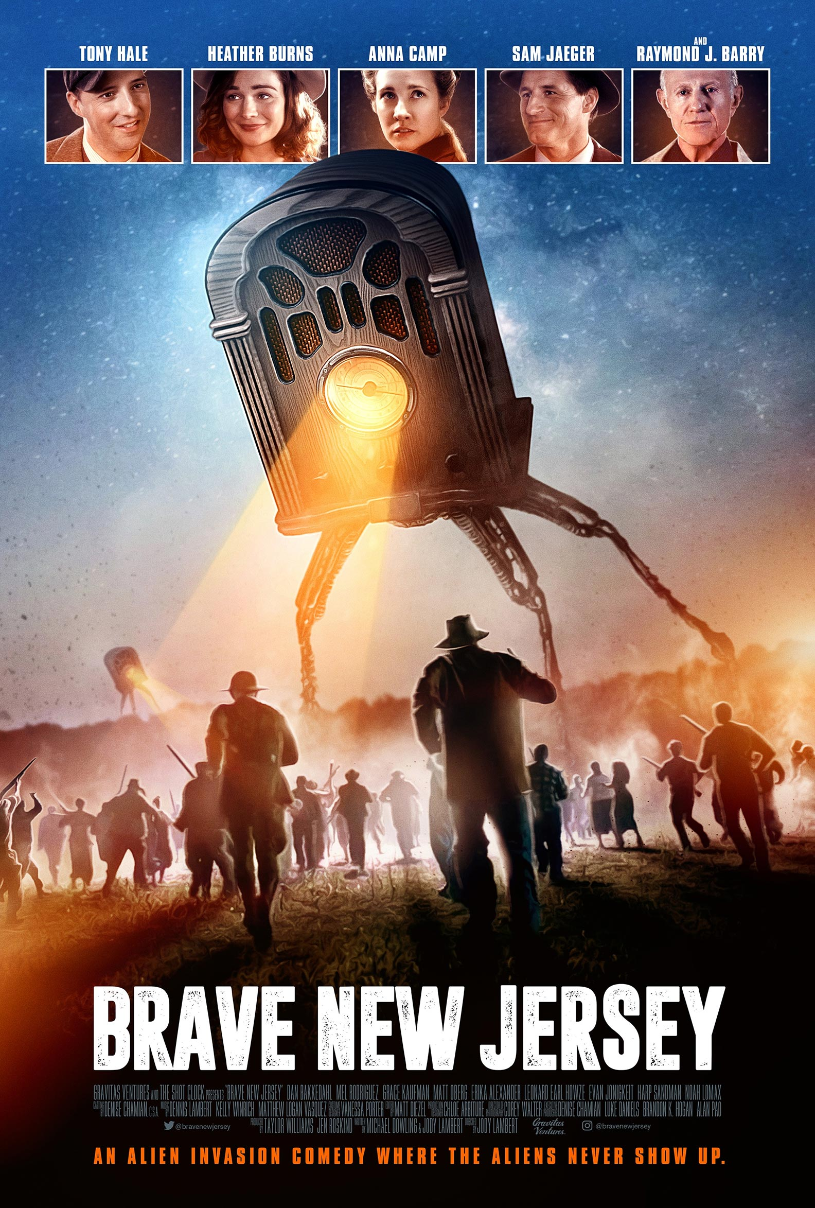 Brave New Jersey Poster #1