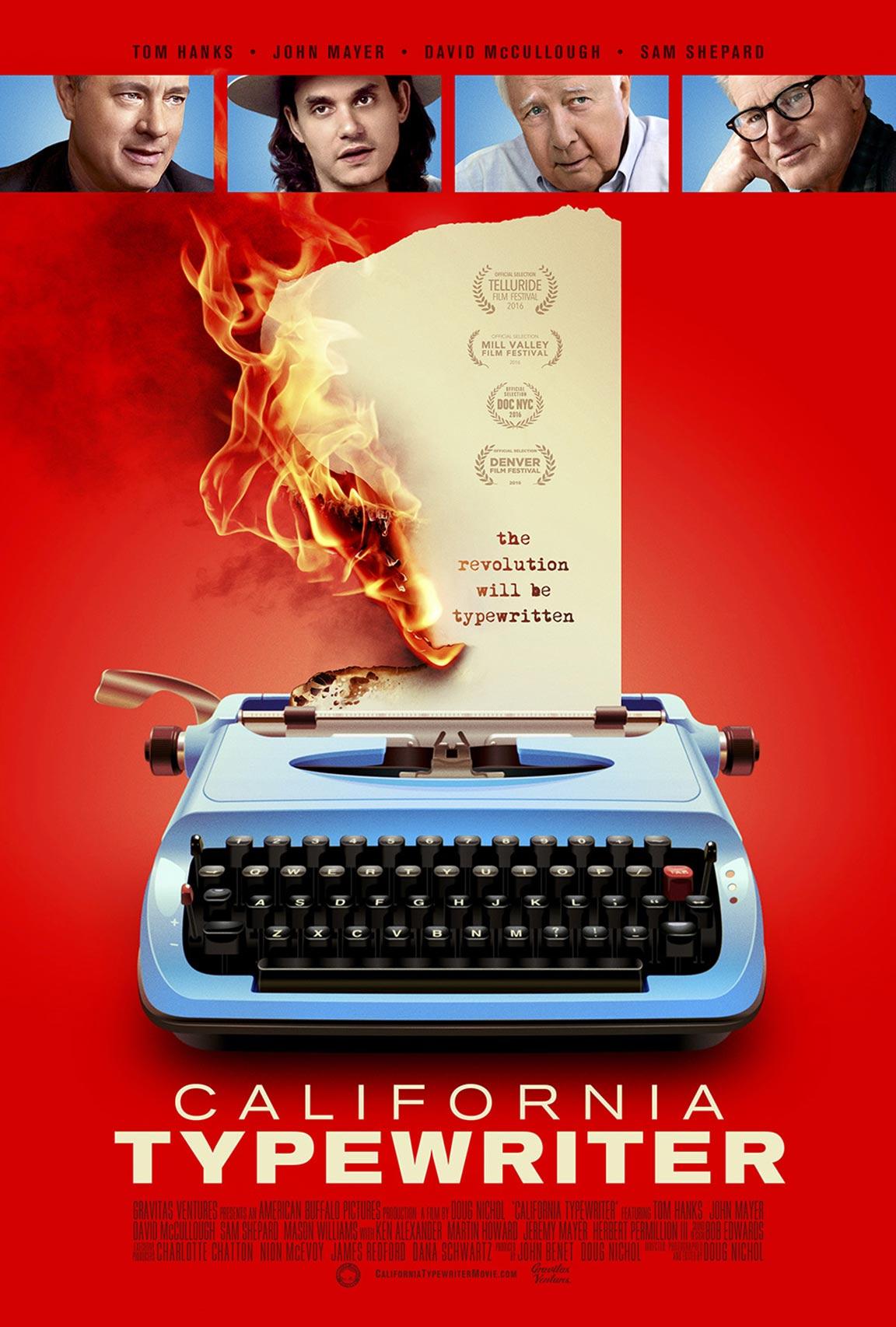 California Typewriter Poster #1
