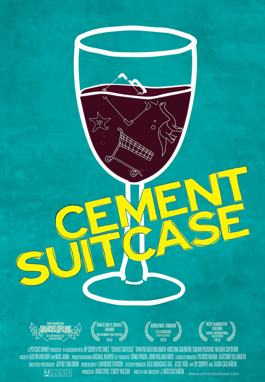 Cement Suitcase Poster #1