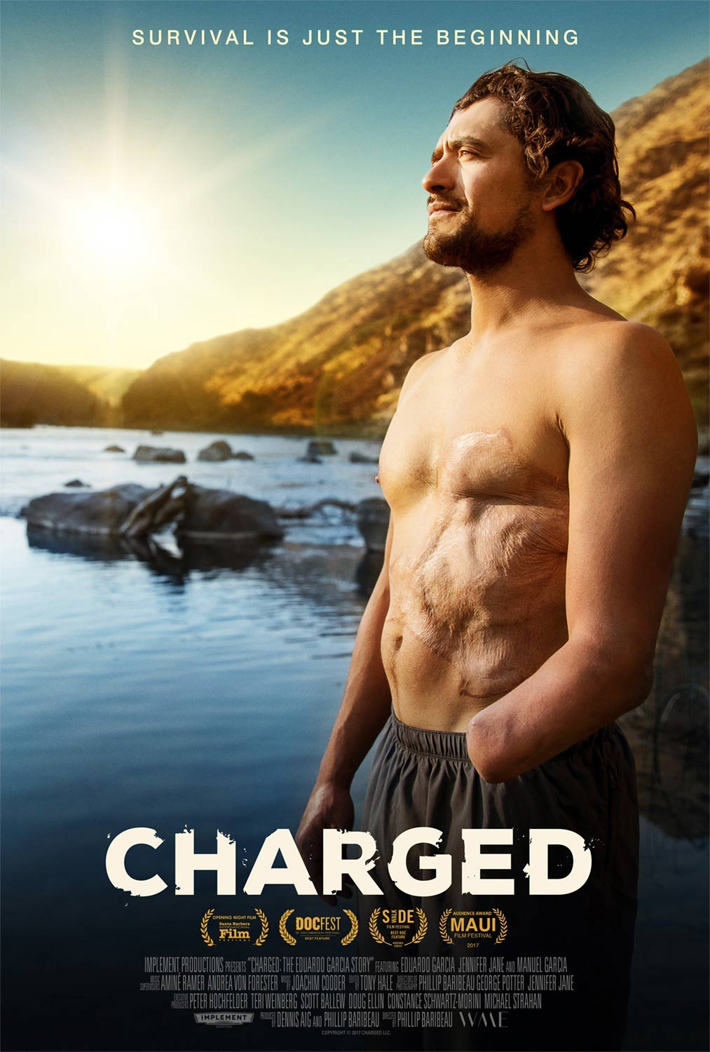 Charged: The Eduardo Garcia Story Poster #1