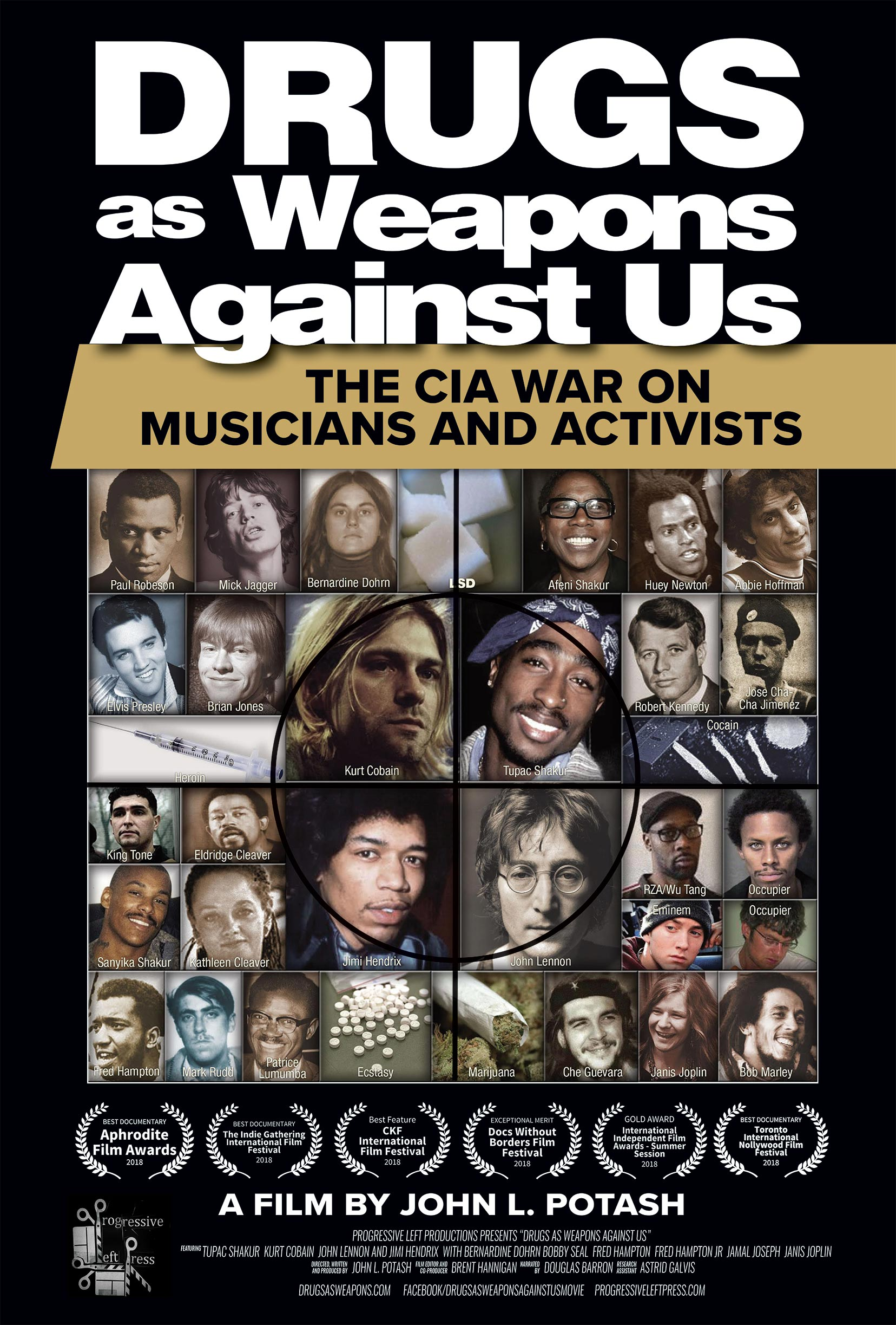 Drugs as Weapons Against Us: The CIA War on Musicians and Activists Poster #1