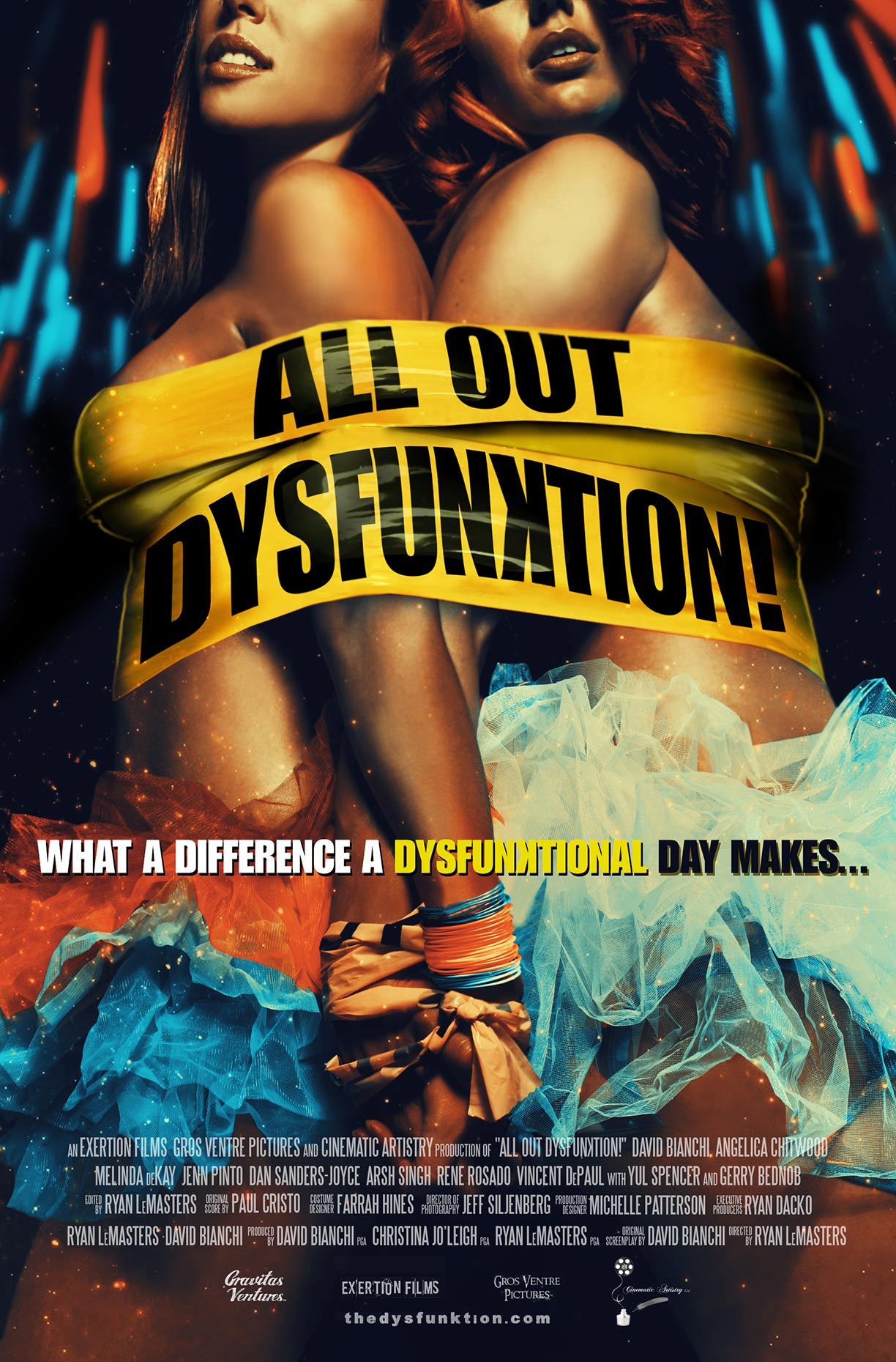 All Out Dysfunktion! Poster #2