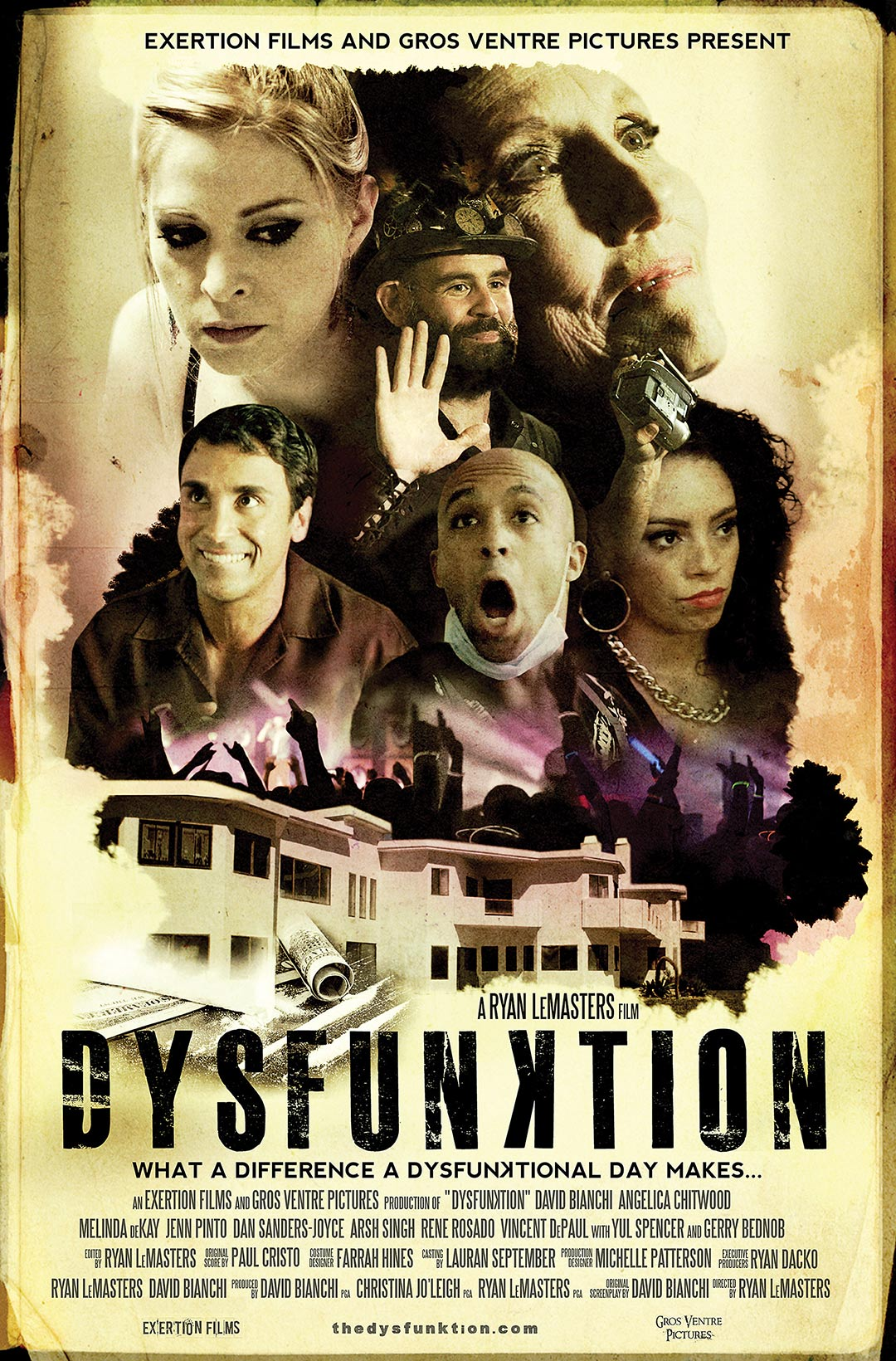 All Out Dysfunktion! Poster #1