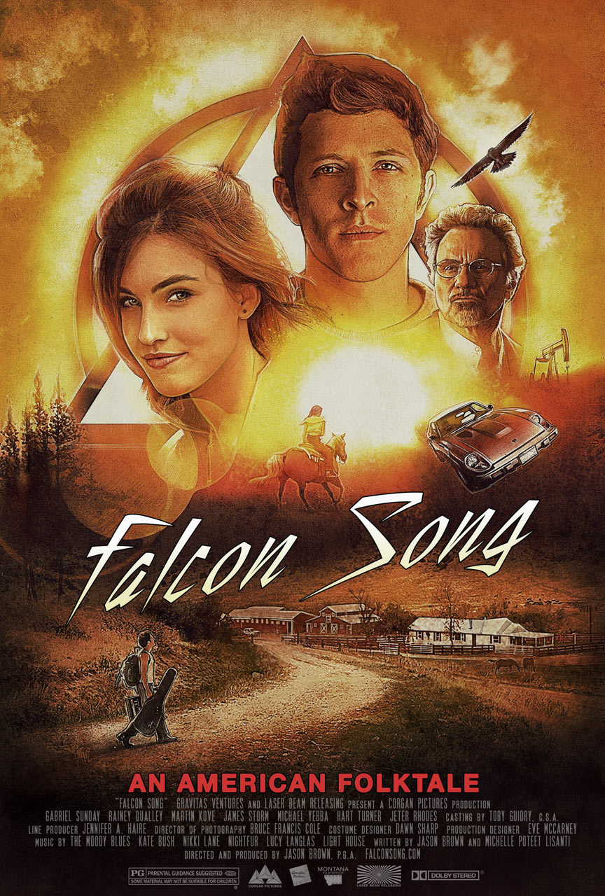 Falcon Song Poster #1