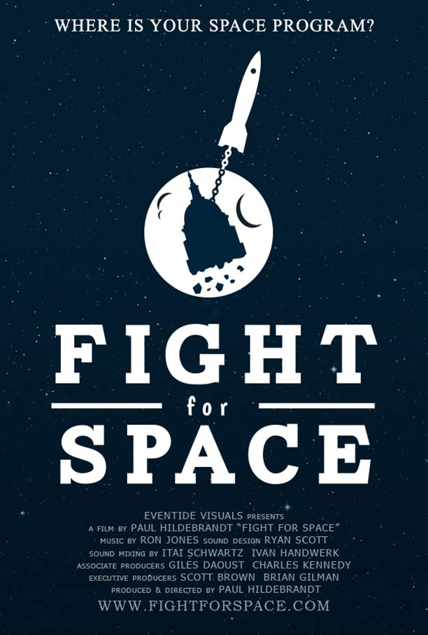 Fight for Space Poster #1