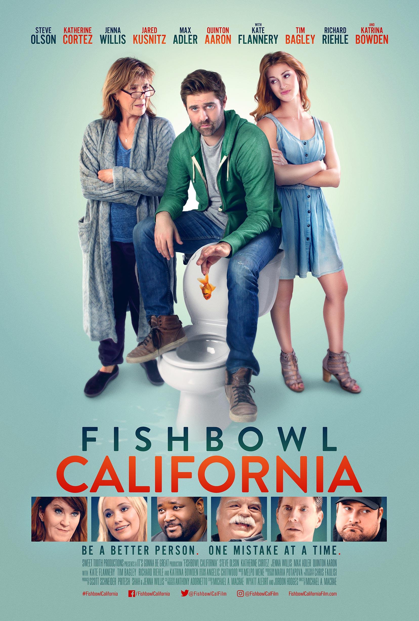 Fishbowl California Poster #1