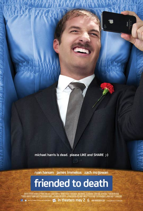 Friended to Death Poster #1