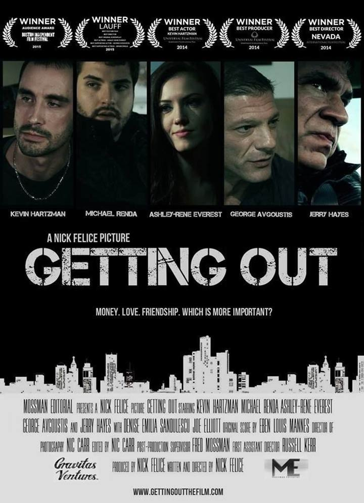 Getting Out Poster #1