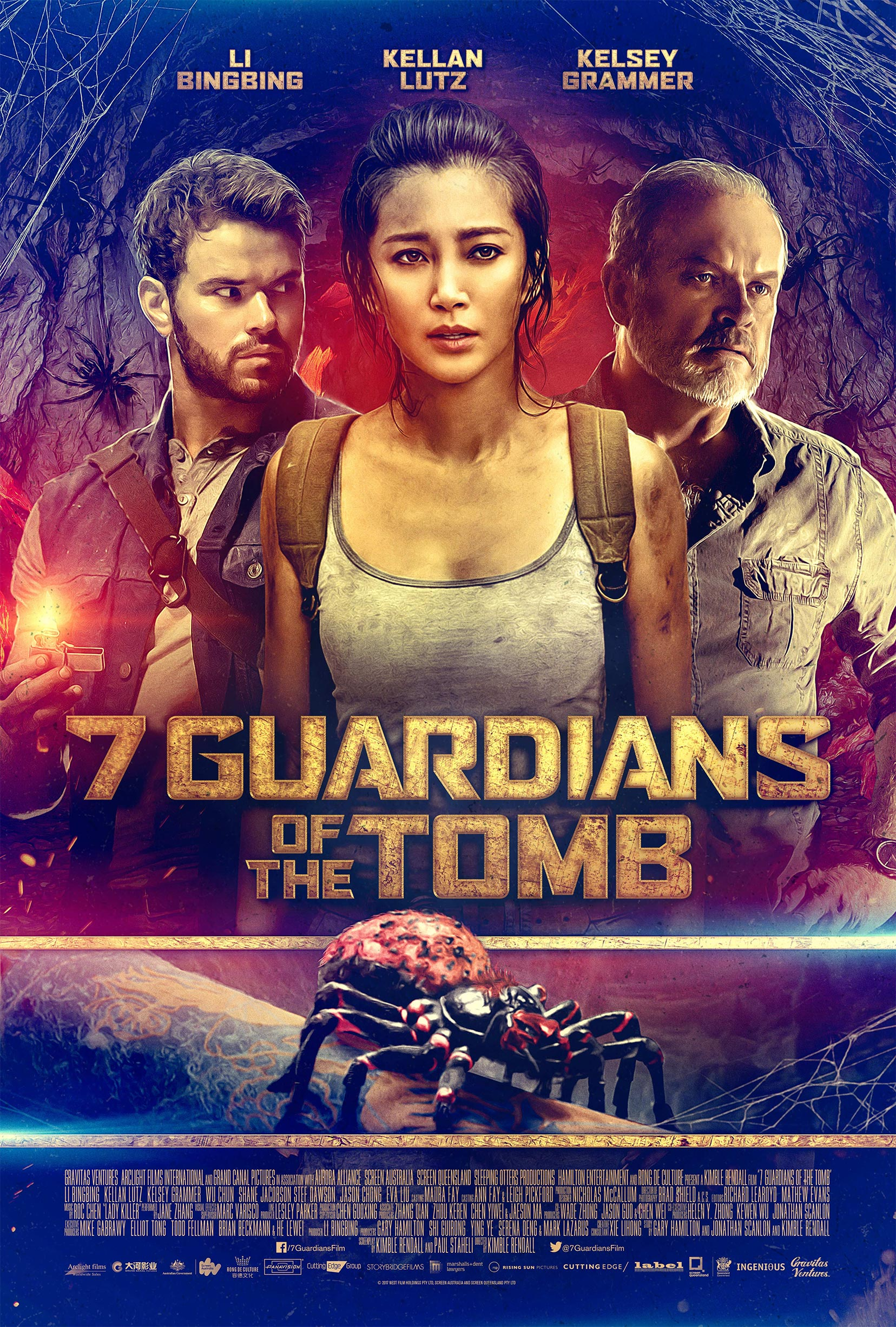 Guardians of the Tomb Poster #1