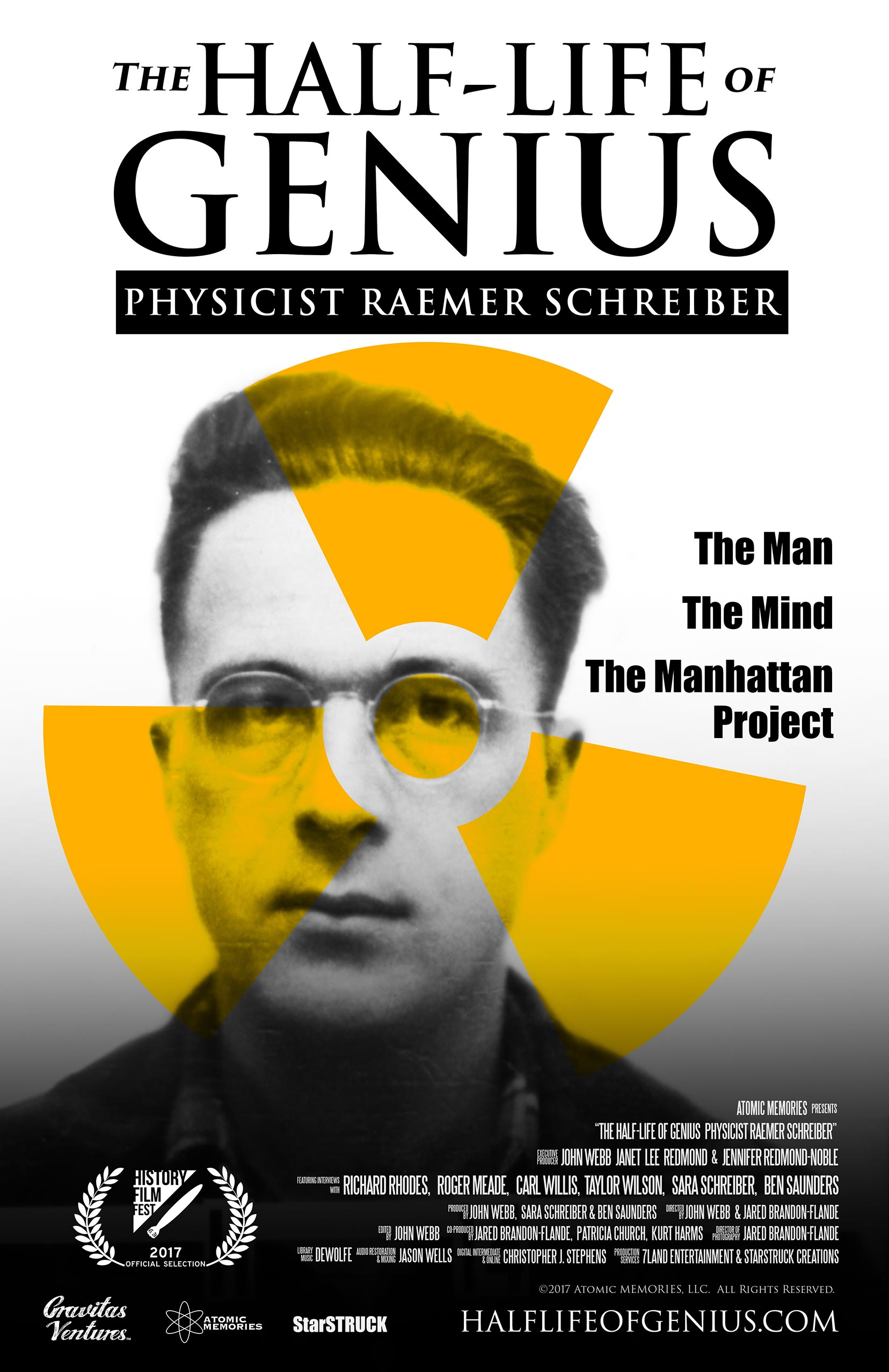 The Half-Life of Genius Physicist Raemer Schreiber Poster #1