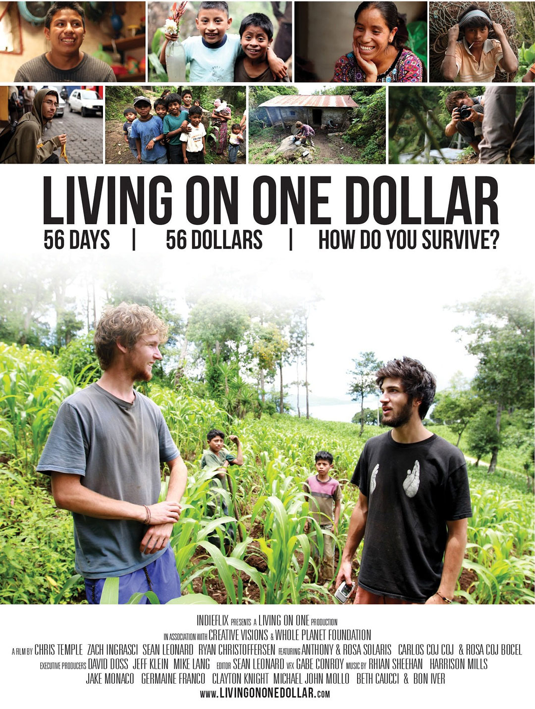 Living on One Dollar Poster #1