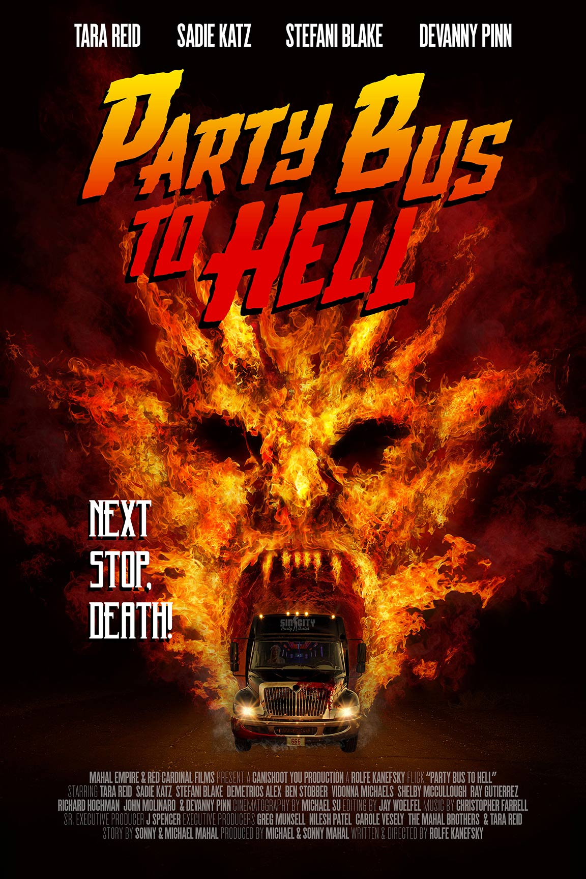 Party Bus to Hell Poster #1