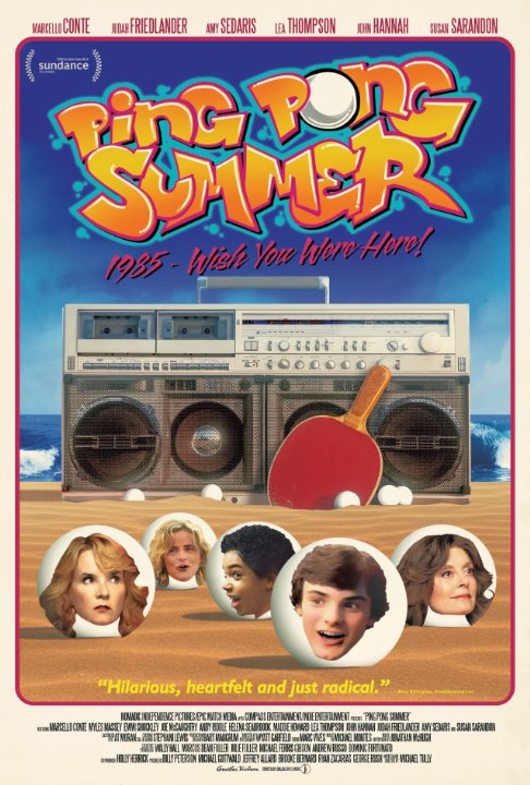 Ping Pong Summer Poster #1