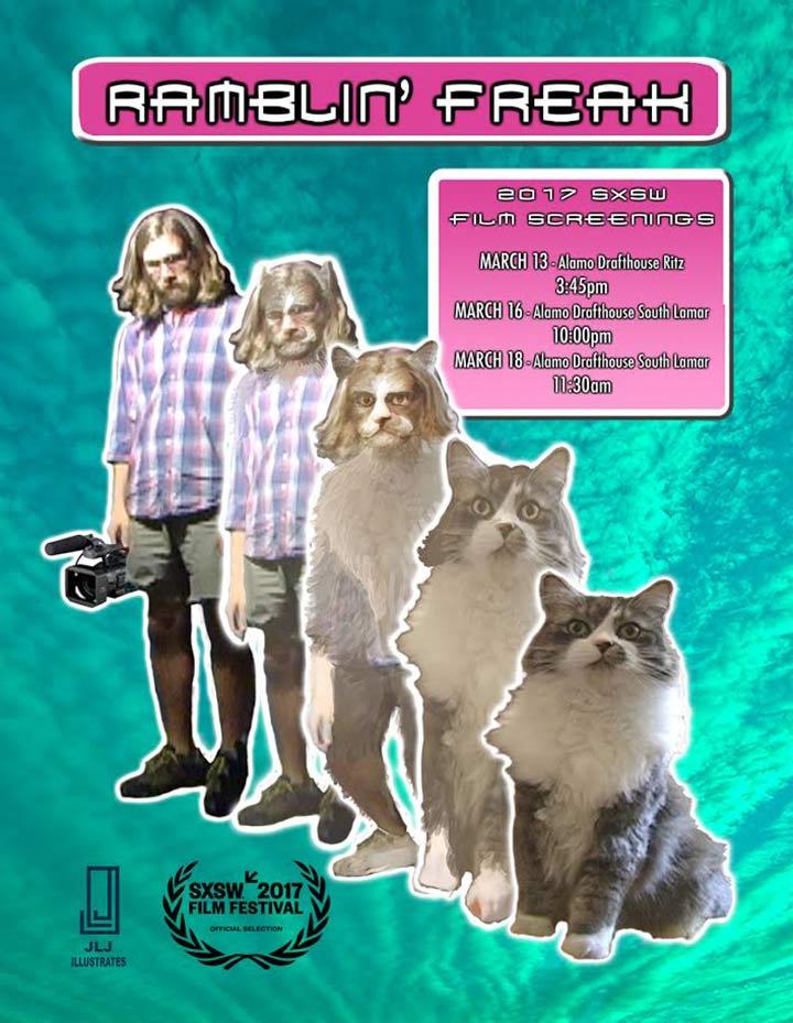Ramblin' Freak Poster #1