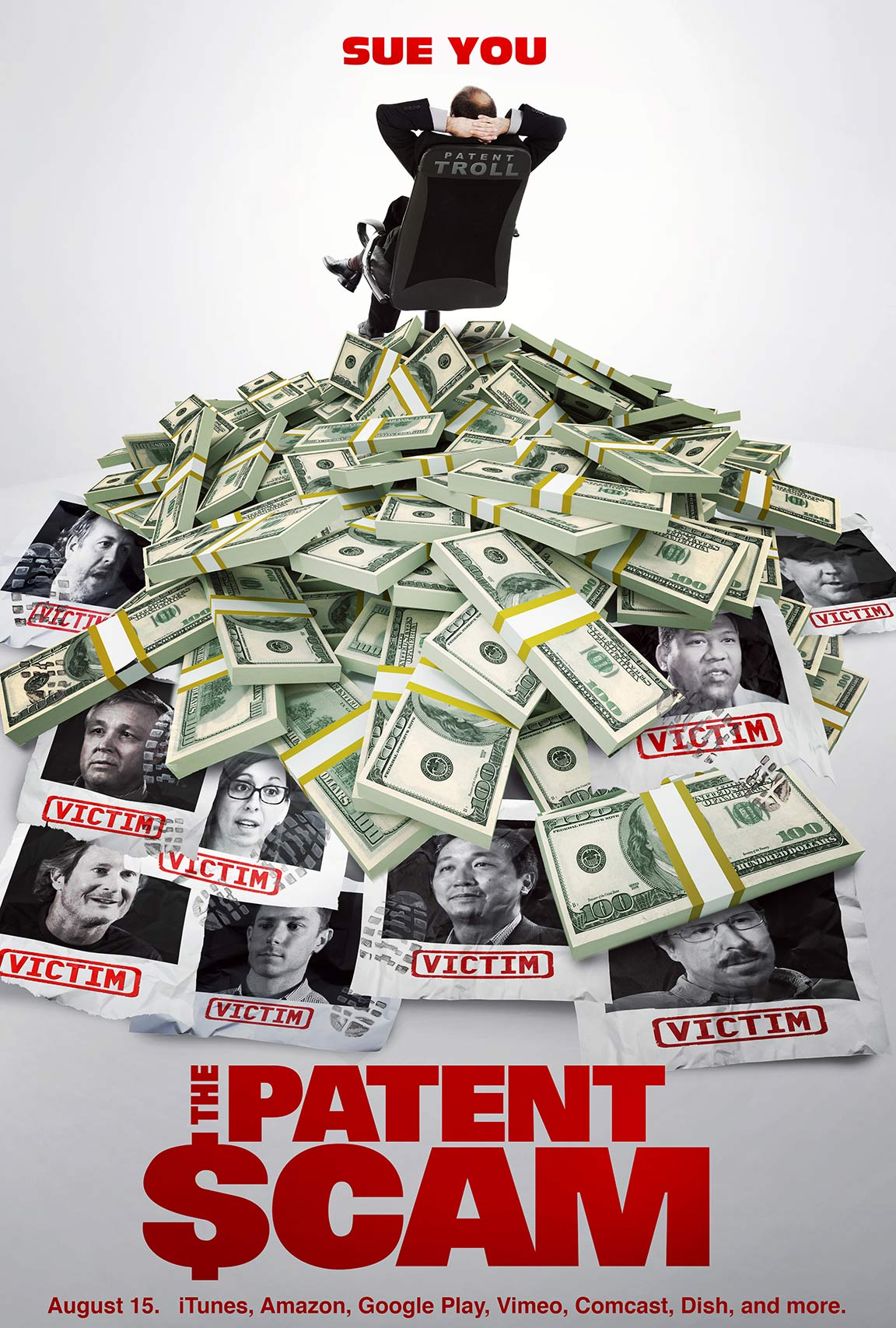 The Patent Scam Poster #1