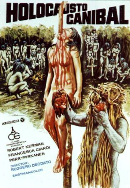 Cannibal Holocaust Poster #1