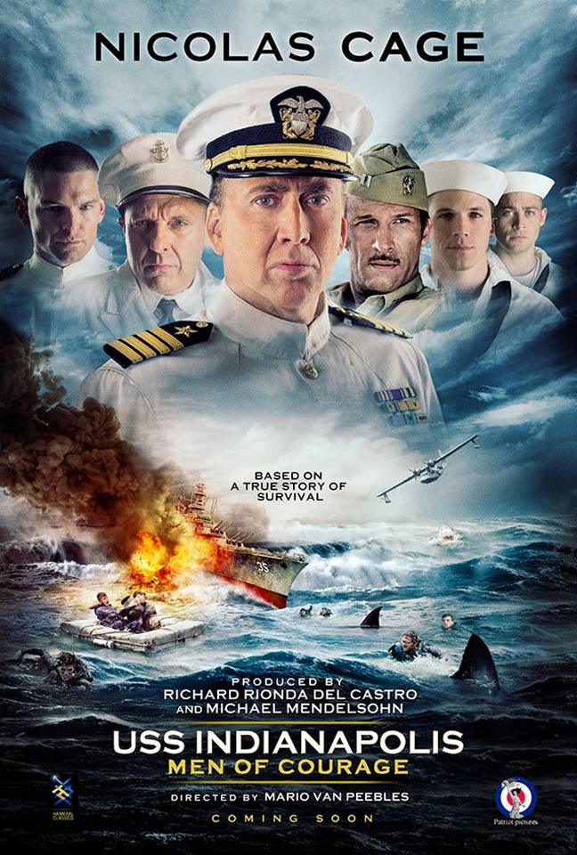 USS Indianapolis: Men of Courage Poster #1