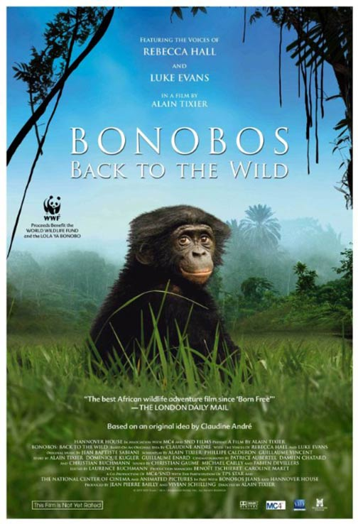 Bonobos: Back to the Wild Poster #1