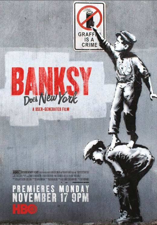 Banksy Does New York Poster #1