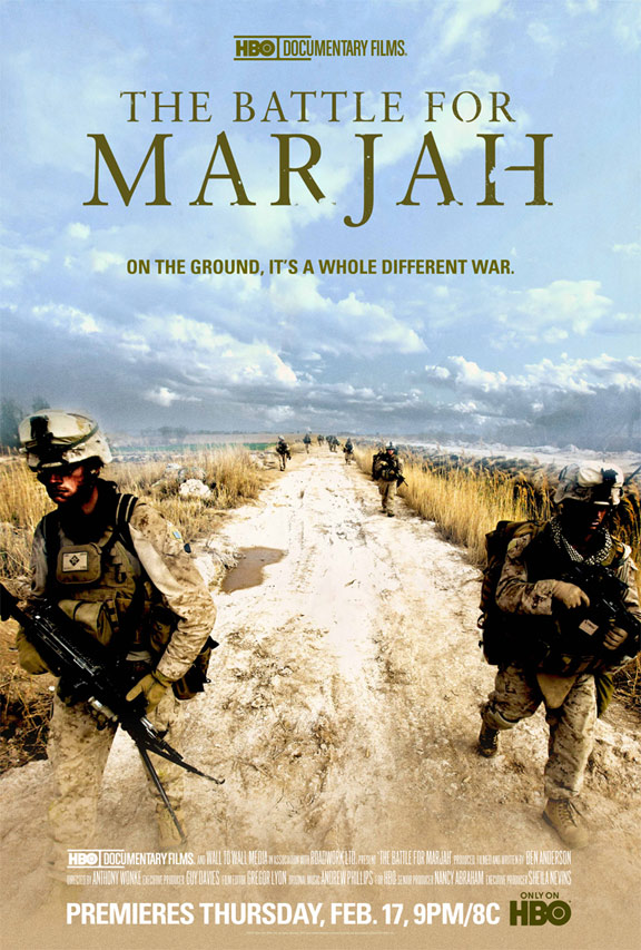 The Battle for Marjah Poster #1