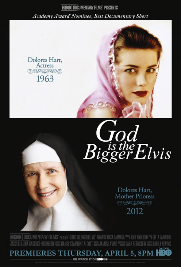 God is the Bigger Elvis Poster #1
