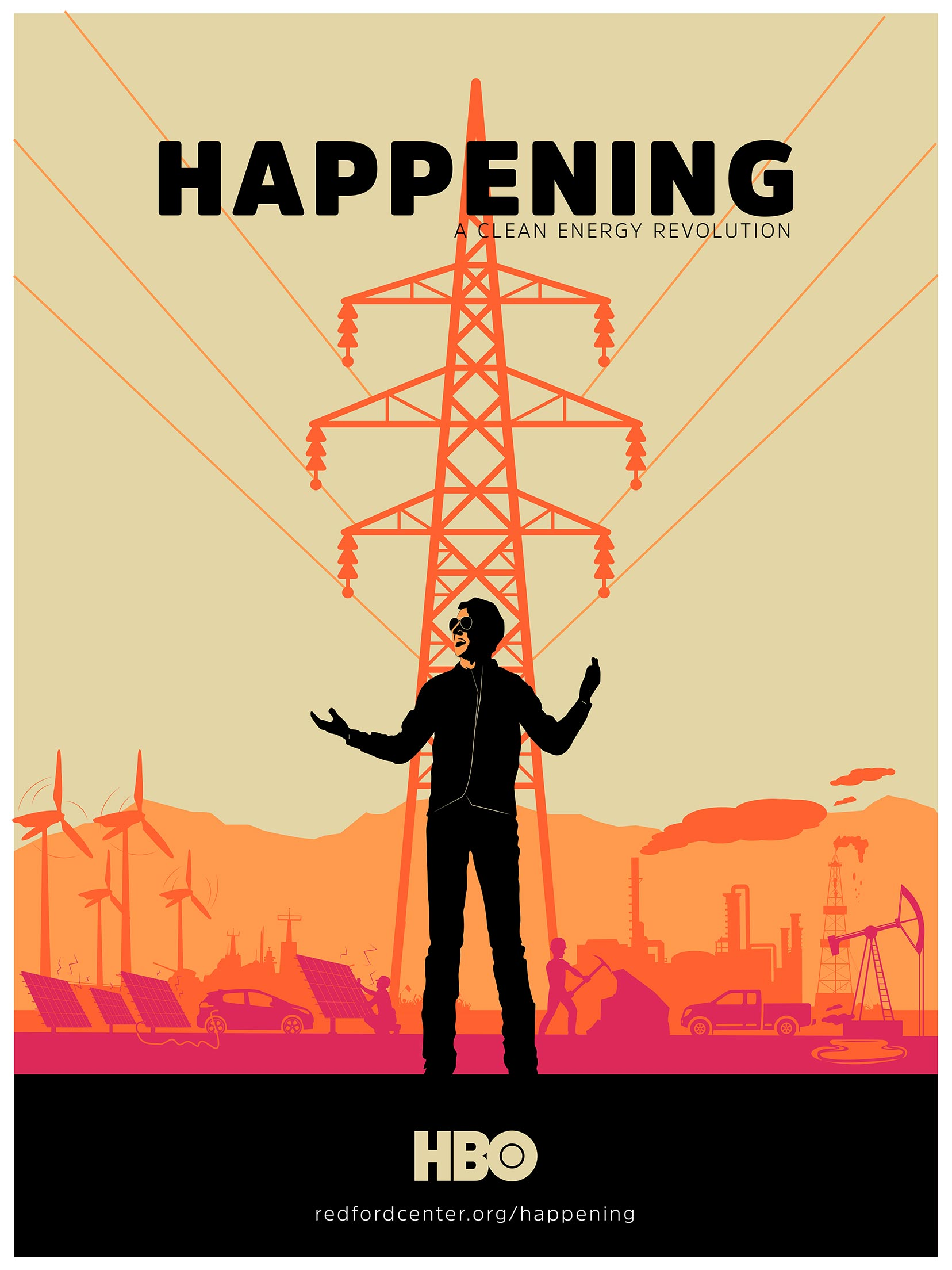 Happening: A Clean Energy Revolution Poster #1