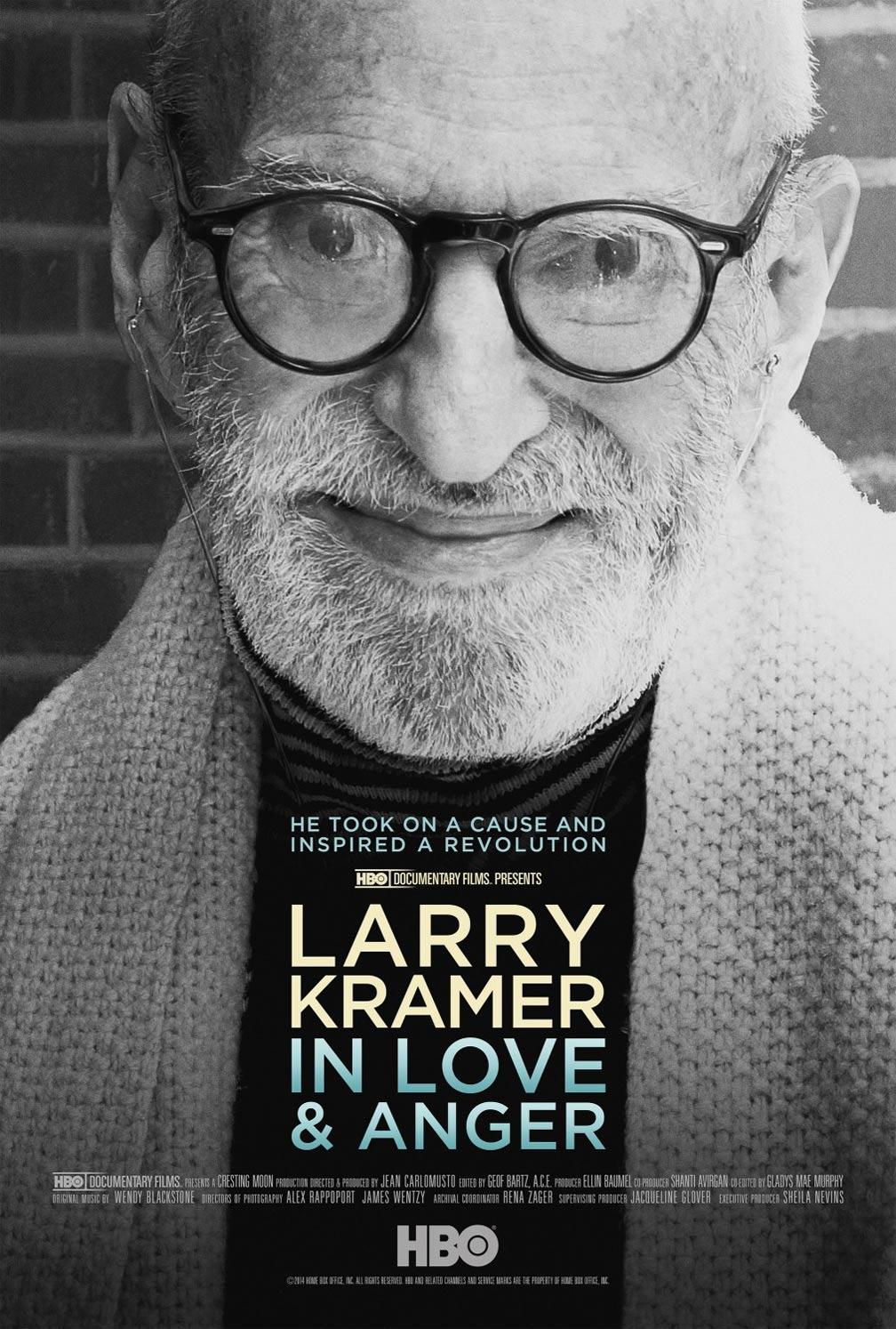 Larry Kramer In Love & Anger Poster #1