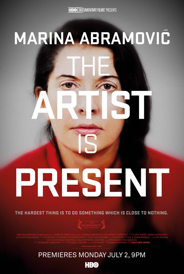 Marina Abramovic: The Artist Is Present Poster #1
