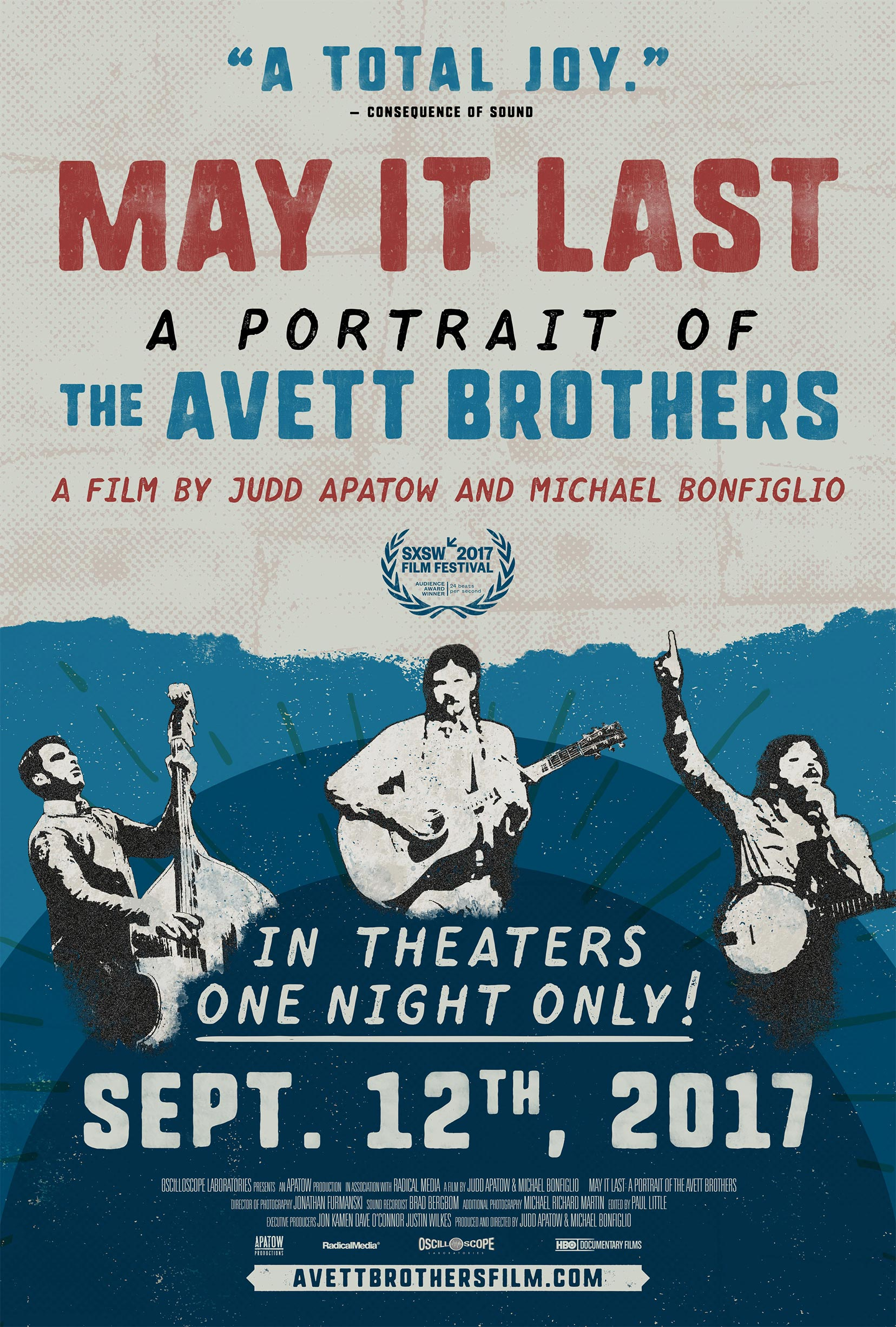 May It Last: A Portrait of the Avett Brothers Poster #1