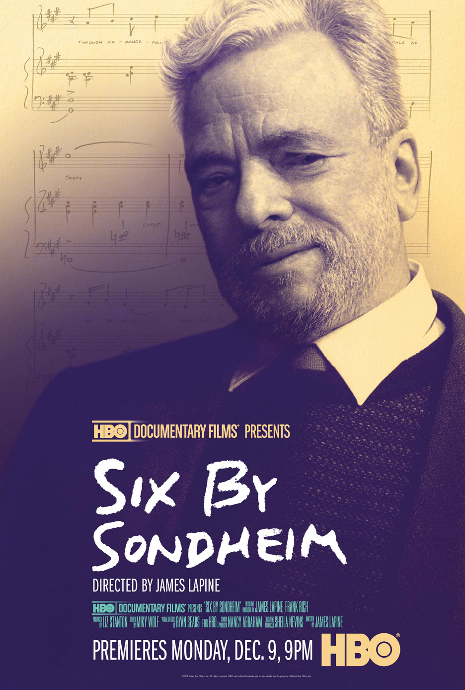 Six by Sondheim Poster #1