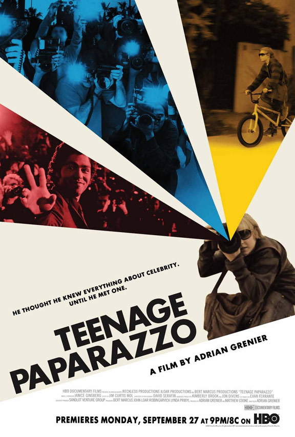 Teenage Paparazzo Poster #1